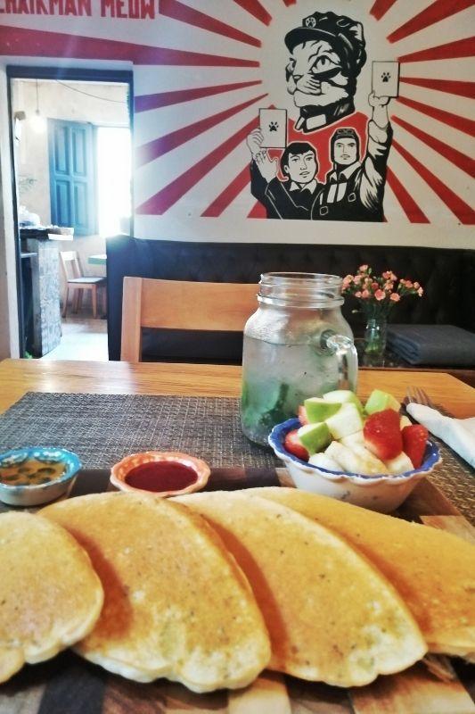 Union cafe breakfast