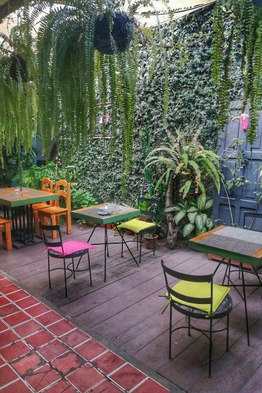 union cafe' garden