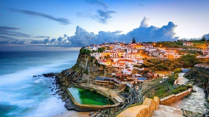 AZENHAS DO MAR COASTAL TOWN PORTUGAL